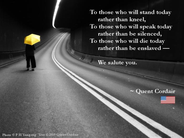Salute to Hongkongers
